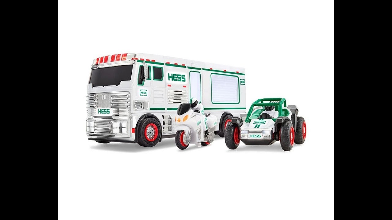 Hess Truck 2019 Christmas The new holiday Hess Toy Truck is here   YouTube