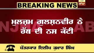 Pathankot : Suicide attempt in Jail
