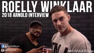 Roelly Winklaar Arnold Sports Festival Australia Interview | March 2018