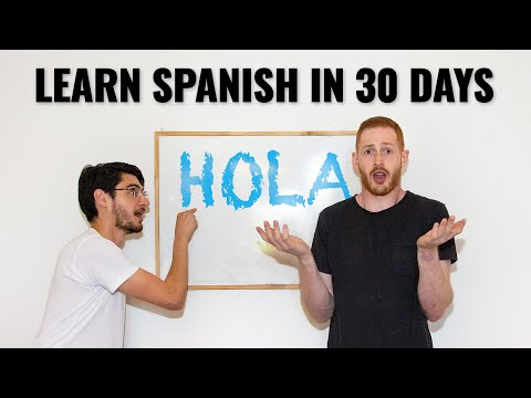 How to say 1 month in spanish