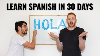 learn spanish in 30 days learn spanish fast challenge