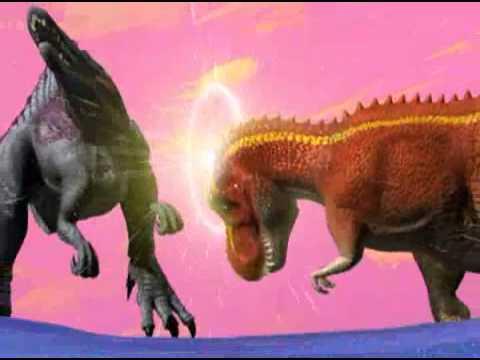 dinosaur king behind the roar trex promo youtube