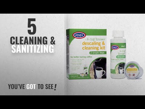 Top 10 Cleaning & Sanitizing [2018]: Keurig K-Cup Machine Descaler & Cleaning Kit by Urnex