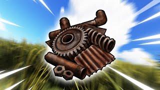 Scrap is important in Rust...