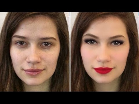 My Extreme Makeover - Before and After - Add makeup to photos!