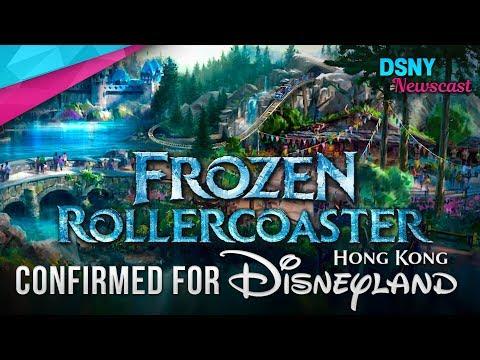 FROZEN Rollercoaster Confirmed for Hong Kong Disneyland - Disney News - 5/25/18