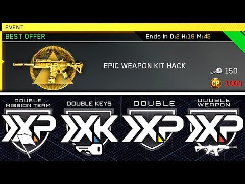 *NEW* EPIC WEAPON KIT HACK + LUCK OF THE IRISH HACK | QUAD FEED 2XP IS LIVE!