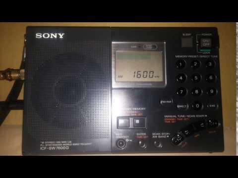 Dx Radio Kalikanto 1600 kHz OM -MW. Perú - Cuzco - Chumbivilcas - Chamaca.