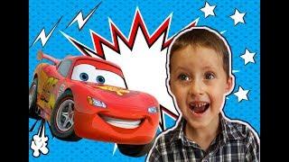 Ребенок катается на машине Видео для детей Димас Атас child is riding a car
