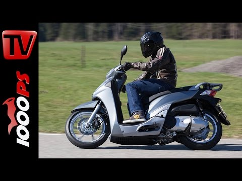 2015 Honda SH300i Test | A2 - 48PS Einsteiger Motorräder Foto