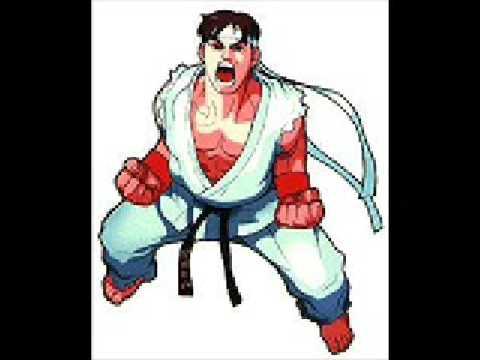 Ryu Theme-Marvel Super Heroes VS Street Fighter Music