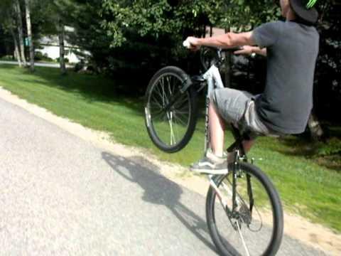 World Record Bike Wheelie Youtube