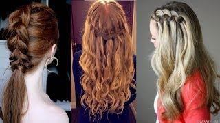 Hairstyles For Long Hair & Hairstyles Tutorials Compilation(part-3)