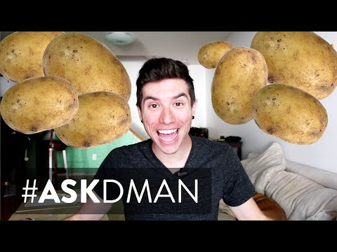 60 Day Potato Diet For Weight Loss? | Tumblr Q&A #AskDman