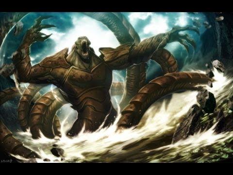 poseidon vs the kraken - photo #3