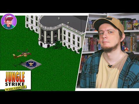 Jungle Strike (Sega Mega Drive / Genesis) / Обзор