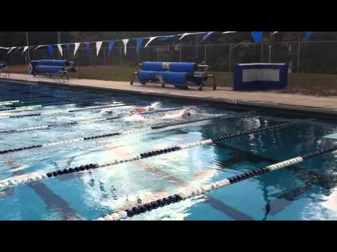 2013 Senior Games -- 50 Yard Freestyle -- Heat 4/4