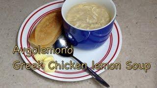 Greek Lemon Chicken Soup Avgolemono Pressure Cooker Recipe Cheekyricho