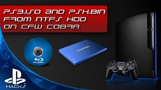 Запуск игр от PS3 и PSX в образах .ISO с NTFS HDD (COBRA EDITION)