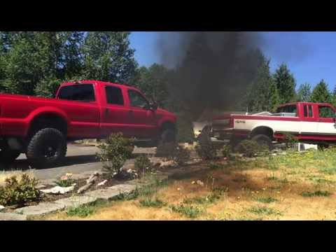 7.3l Idi turbo diesel VS 6.0l powerstroke turbo whistle