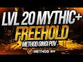 World First Mythic +20 Freehold