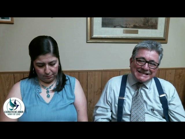 Santa Cena: Pastores Eduardo Y Blanca Urrea 091421