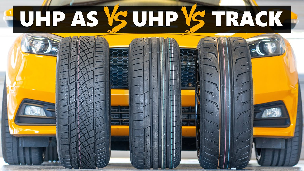 UHP All Season vs UHP vs 200tw Track Tire Test! Continental ExtremeContact DWS06+ vs Sport vs Force!