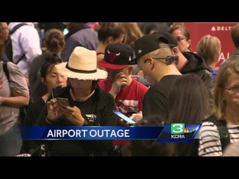 Network outage causes Sacramento airport delays