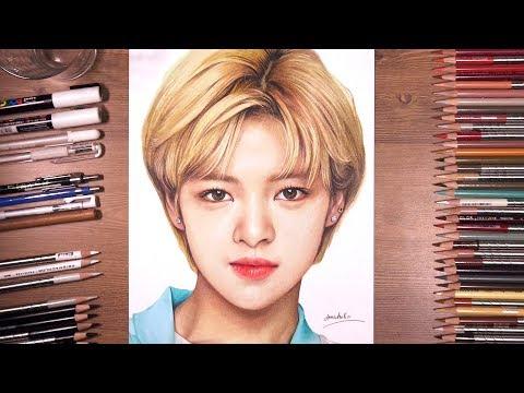 TWICE : Jeong yeon 정연 - speed drawing   drawholic