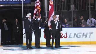 ALFIO sings US National Anthem - Madison Square Garden
