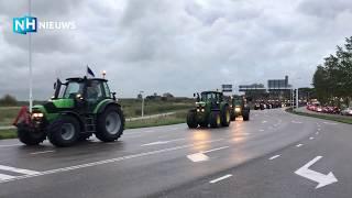 De Noord-Hollandse boeren onderweg naar Den Haag voor protest 🚜🚜🚜