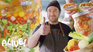 Download Brad Makes Giardiniera (Italian Pickle Relish)   It's Alive   Bon Appétit Mp3 and Videos