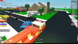 epic firetruck rampage roblox