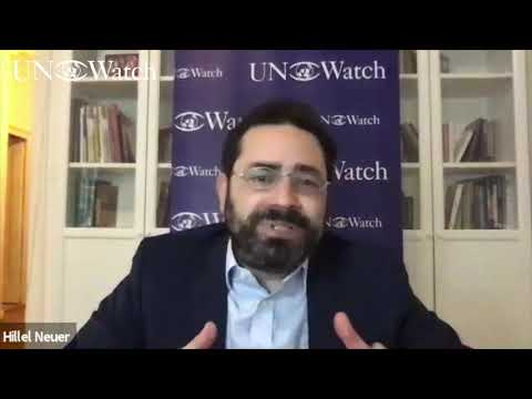 UN Watch's Hillel Neuer Opposes Cuba, China, Pakistan & Russia's Runs for U.N. Human Rights Council