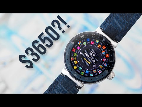 $3650 LOUIS VUITTON SMARTWATCH Vs $200 Watch?!