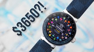 $3650 LOUIS VUITTON SMARTWATCH vs $200 Watch?!