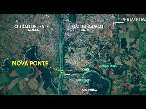 Confirmado: El 10 de mayo empieza la obra del segundo puente con Brasil