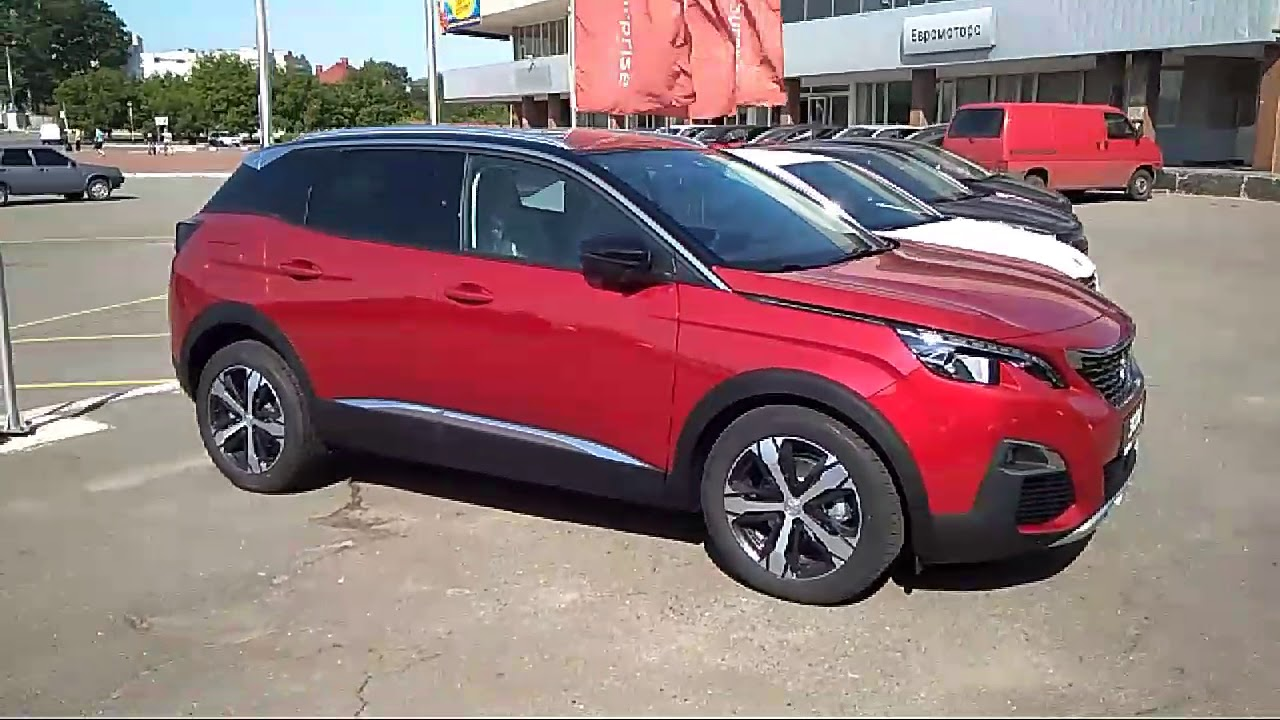 new peugeot 3008 ultimate red youtube. Black Bedroom Furniture Sets. Home Design Ideas