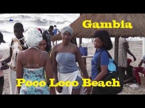 Beach/Strand, Poco Loco,  Kololi, Gambia