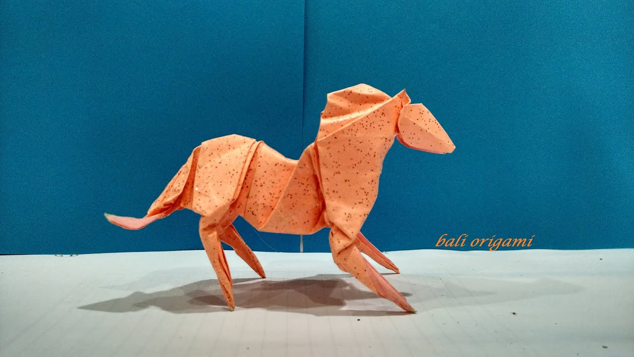 Origami Horse (Roman Diaz) Part 1 - YouTube - photo#40