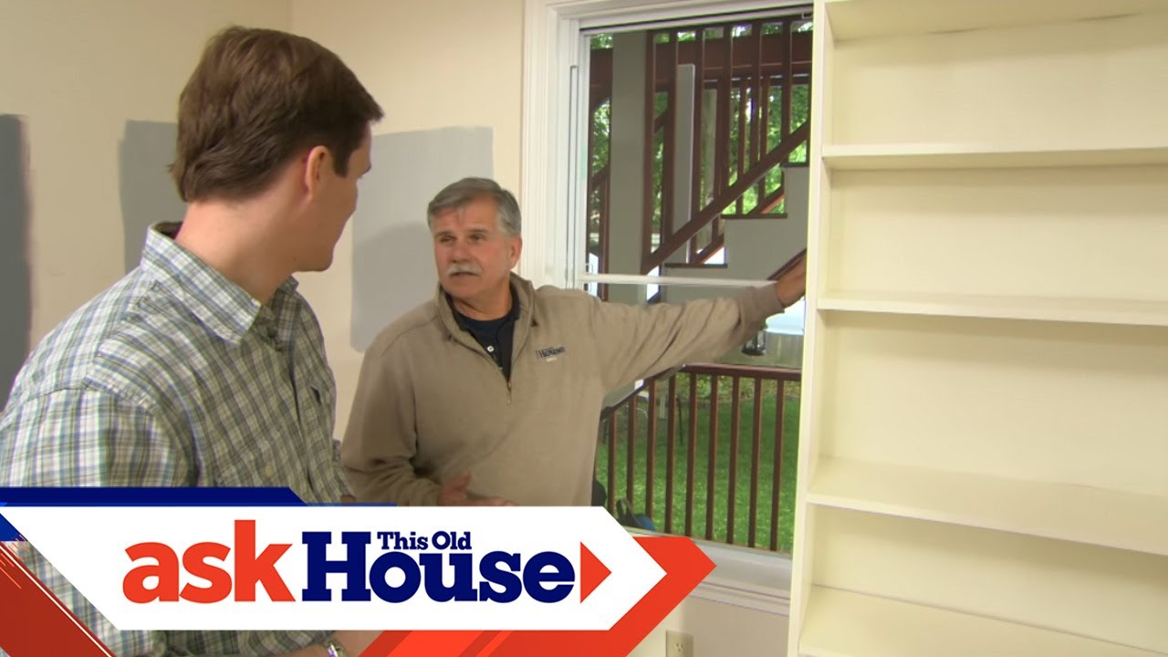 foto de How to Build a Custom Built-In Using Stock Shelving | Ask This Old ...