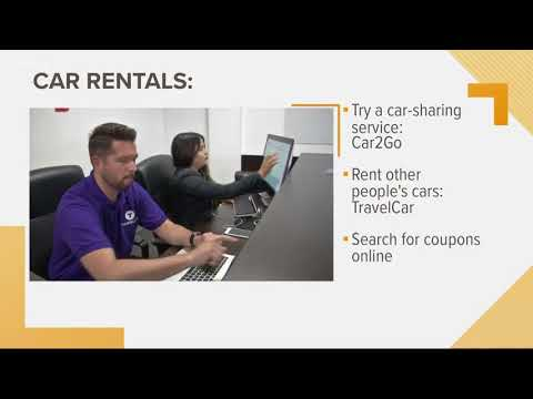 Last-minute spring break: car rentals