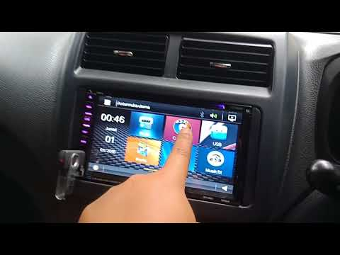 Review double din JEC GD6981 AUDIO BANK  / UPGRADE AUDIO AYLA