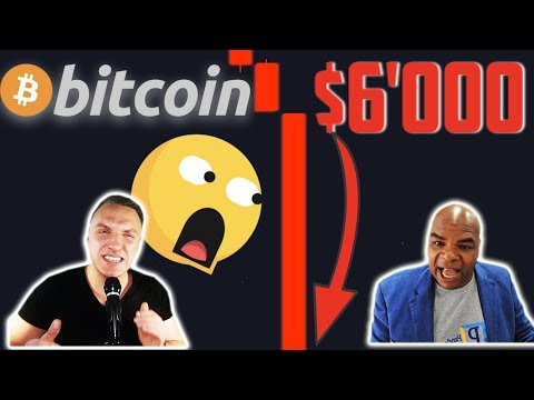 ALARMING!!!!!!!!! BITCOIN IS CRASHING TO $6'000 NOW IF WE BREAK THIS LEVEL!! [noone watches this…]
