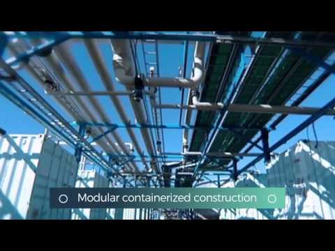 Fluence packaged desalination plant in Cyprus