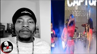 Spice Cried on stage while performing the song Captured ( 8 Nov 2018 ) Rawpa Crawpa Vlog