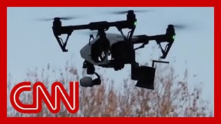 Watch China use 'talking drones' to warn citizens
