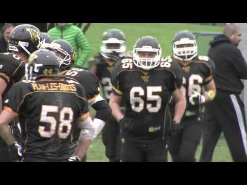 NSFL 2015 - Semi-final : Geneva Whoppers - Monthey Rhinos