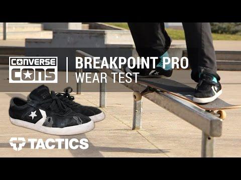 Converse Breakpoint Pro Skate Shoes Wear Test Review - Tactics.com