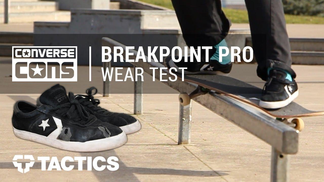 5fd830c0e26 Converse Breakpoint Pro Skate Shoes Wear Test Review - Tactics.com ...
